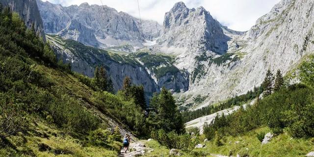 Festhalten: Virtuelle Tour auf die Zugspitze
