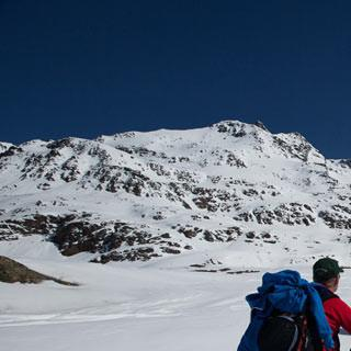 Skitouren am Reschenpass, Fotos: Iris Kürschner