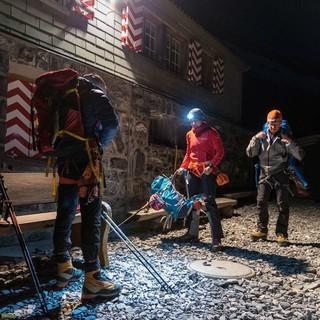 Aufbruch  an der Fründenhütte, Foto: Ralf Gantzhorn