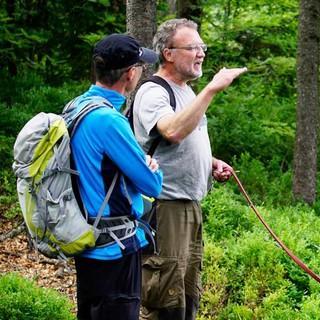 Auf den geführten Touren informieren Nationalpark-Ranger oder -Förster über die Besonderheiten im Schutzgebiet. Foto: Joachim Chwaszcza