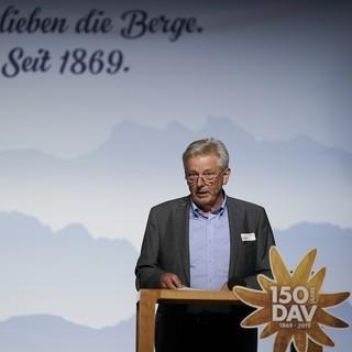 DAV-Präsident Josef Klenner. Foto: DAV/Henning Schacht