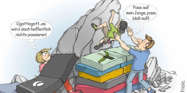 Cartoon-Verantwortung-Hundertprozentig-Sicher