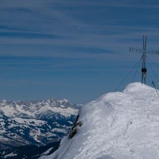 Auf dem Schafsiedel - <p>Geteilte Freud': Ganz allein wird man in den Kitzbüheler Alpen selten sein.</p>