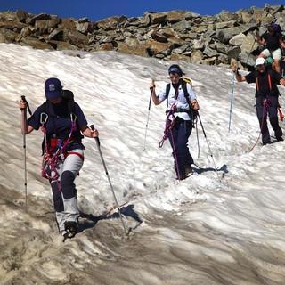 Schneefelder - Durch die Höhenlage sind auch immer wieder Schneefelder zu queren – Aufpassen!