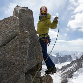 Kletterei vor atemberaubender Aussicht, Foto: Dörte Pietron