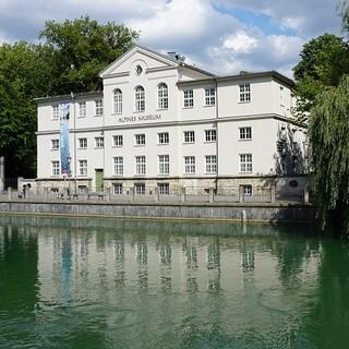 Das Alpine Museum in München. Aufnahme: Carmen Fischer/DAV