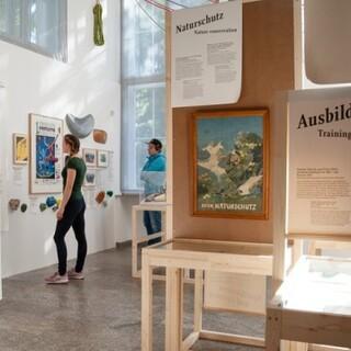 """""""Die Berge und wir"""" - eine von über 35 Ausstellungen der vergangenen 25 Jahre. Foto: Alpines Museum DAV."""