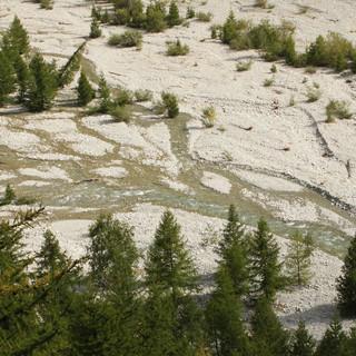 Typischer Gebirgsfluss, Foto: SReich