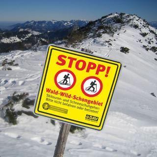 Bitte nicht befahren oder betreten!