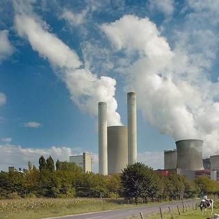 Kohlekraftwerk Niederaussem, Foto: Andrew Kerr/WWF-Canon