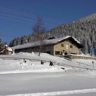 Ab 25.12. geöffnet: Albert-Link-Hütte am Spitzingsee, Foto: DAV/Thomas Gesell