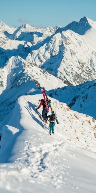 Skitiouren sind für viele die Königsdisziplin des Winterbergsports. Foto: DAV/Daniel Hug