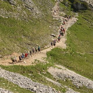 Der Andrang auf die Berge wächst. Foto: DAV/Steffen Reich