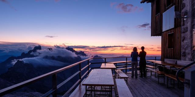 """Auch der Umweg ist es wert: Die """"kleine"""" Runde über die Adamekhütte stellt eine gute Alternative darf. Foto: Iris Kürschner"""