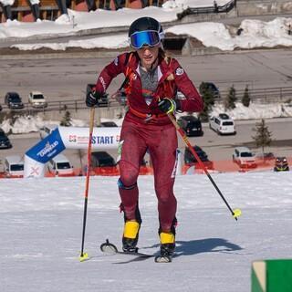 Tatjana Paller entscheidet die Sprint-Qualifikation für sich - Foto: Nils Lang