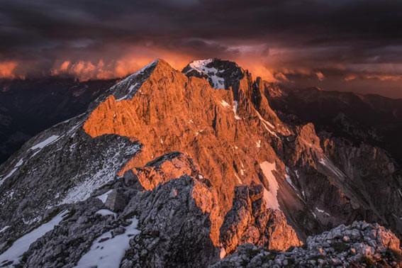 Grabenkarspitze-Karwendel