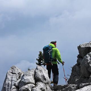 Wilde Karstlandschaft zwischen dem Rossis-Biwak und Zavižan. Foto: Silvia Schmid