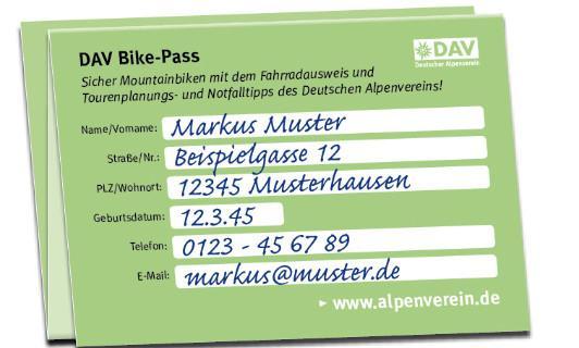 DAV Bike-Pass