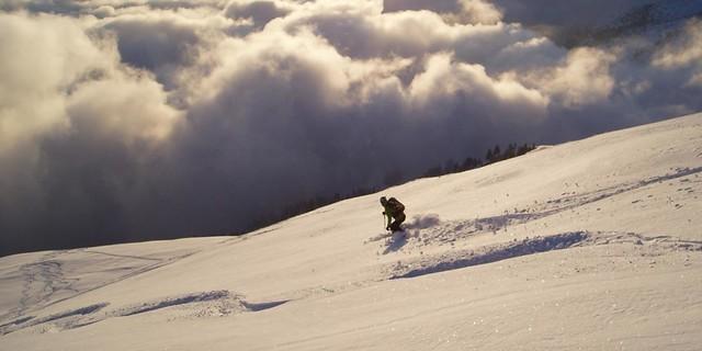 Skitour im Allgäu&#x3B; Foto: Jubiarchiv