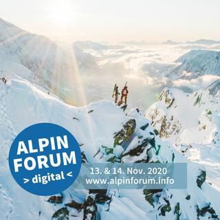 Das Alpinforum findet 2020 digital statt. Foto: Mathis Dumas