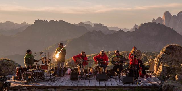 "Musikfestival ""Sounds of the Dolomites"". Foto: Trentino Marketing / Federico Modica"