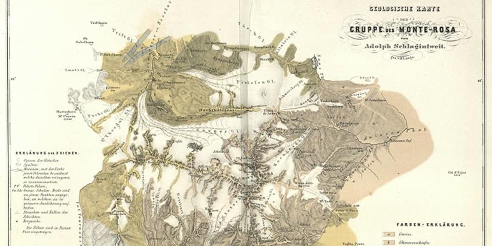 Himalaya Berge Karte.Bilder Und Objekte Der Ausstellung Uber Den Himalaya