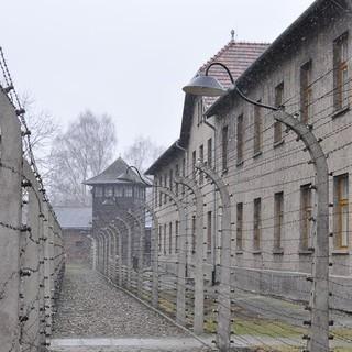 Auschwitz Außenansicht&#x3B; (c) Jonas Freihart