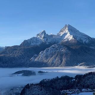 Der bekannteste Teil der Berchtesgadener Alpen: der Watzmann. Foto: ServusTV/Timeline Production