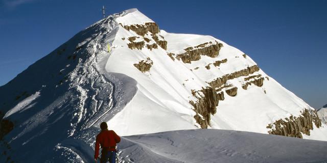 Skitourengehen am Schafreuter