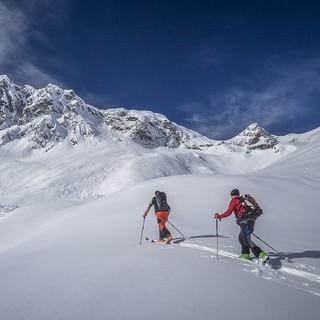 Zum ersten Mal im Programm der DAV Nachwuchscamps: Skialpinismus. Foto: Silvan Metz