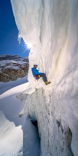 Nicht nur Skitechnik, auch seiltechnisches Grundwissen sollte mitgebracht werden. Foto: DAV / Silvan Metz