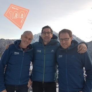 (v.l.n.r.) Wolfgang Mayr, Florian Bischof, Nico Löder, Foto: privat