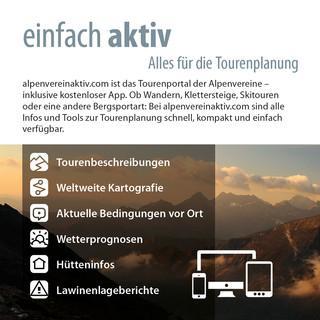 Aktiv sein mit alpenvereinaktiv.com
