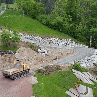 provisorischer Hangweg ist fertig, 20.05.2020; Bild: Jubi/Nico Löder