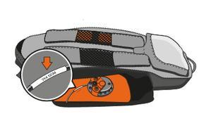 ABS-Rucksack-Seriennummer
