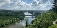 Geschichtsträchtiges Terrain: Der Neckar bei Bad Wimpfen. Blick von der Stauferburg. Foto: Joachim Chwasczca
