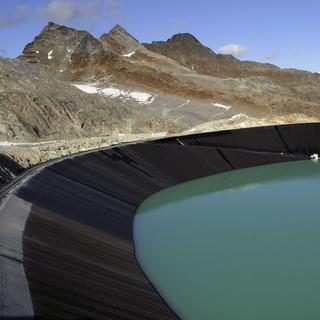 Speichersee im Pitztaler Gletscherskigebiet. (Foto: GöF)