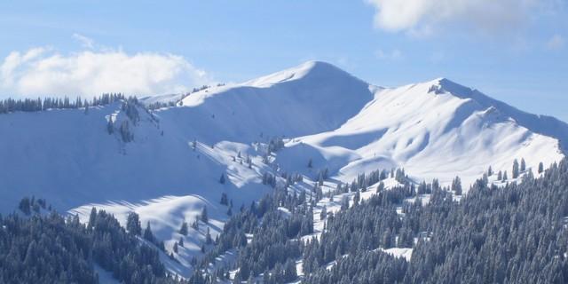 Allgäuer Skitouren-Paradeberg: Das Riedberger Horn