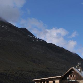 Langtalereckhütte - Endlich zuhause. Die Langtalereckhütte ist bestens geführt und trotzdem wenig besucht.