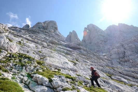 Klettersteig Julische Alpen : Triglav m von rudno polje pokljuka julische alpen