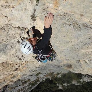 Tobias Koch (14) am Monte Casale
