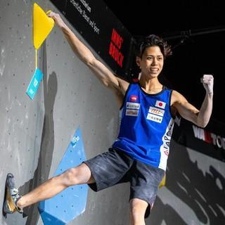 Der junge Japaner Kai Harada holt sich den Boulder-WM-Titel (Foto: JOHANN GRODER)