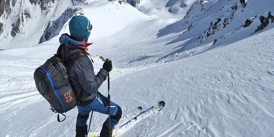 Ski an und ab geht's .....Foto: Stefan Herbke