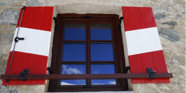 Neue Prager Hütte - Auch die Fenster wurden ausgetauscht.