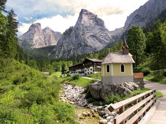 Anton-Karg-Haus in Hinterbärenbad