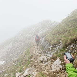 GPS-Navigation. Foto: Harald Benker
