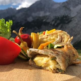 Auf allen DAV-Hütten gibt es vegetarische Angebote. Foto: DAV/Michael Kirchmayer