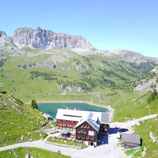 Freiburger Hütte. Foto: Florian Mittermayr