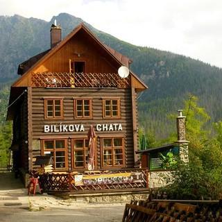 Station der ersten Etappe: Bilíkova chata, Foto: Josef Schlegel