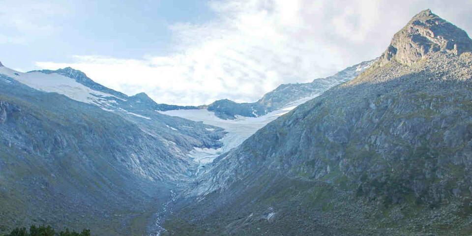 Das Hornkees verlor über 100 Meter Länge in nur einem Jahr. Foto: ÖAV/R. Friedrich